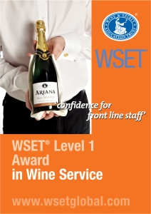 CLICK IMAGE for WSET Level 1 Award in Wine Service