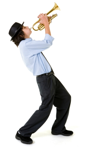 playing our own trumpet
