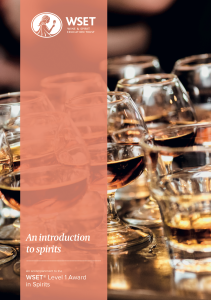 CLICK IMAGE for WSET Level 1 Award in Spirits