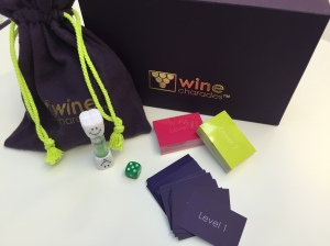 wine charades is a great energy raising game!
